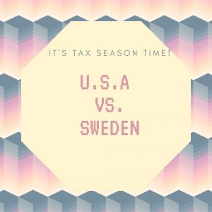 Taxes - U.S. vs. Sweden