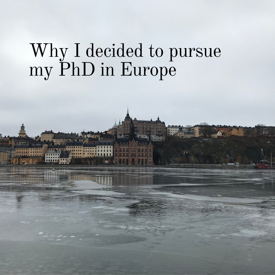 You should study in Europe. Knowledge from someone pursuing a Ph.D.