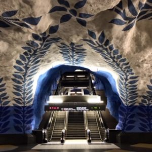 Stockholm Metro: The World's Longest Art Gallery.