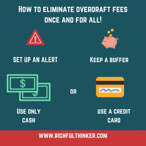 How to eliminate overdraft fees once and for all
