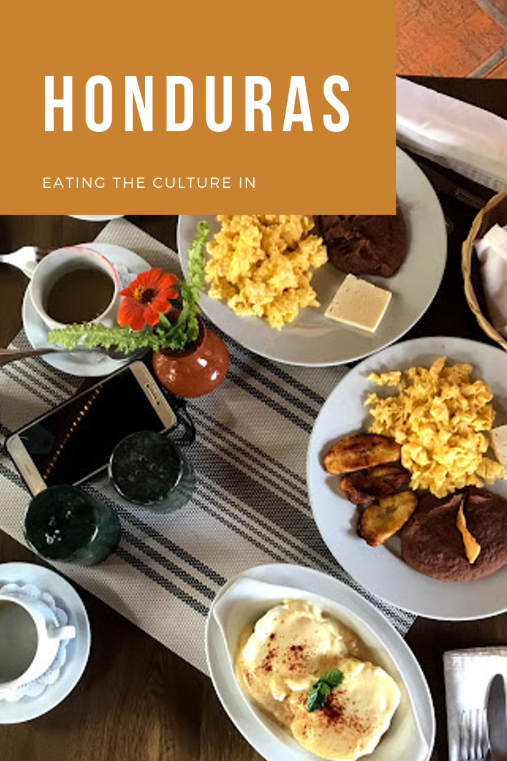 Eating the culture in. What is typical Honduran food?
