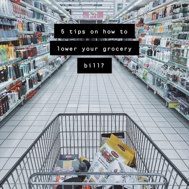 How to lower your grocery bill? 5 tips.