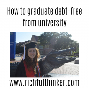 How to graduate debt-free from university