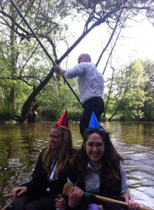 Punting down the Isis