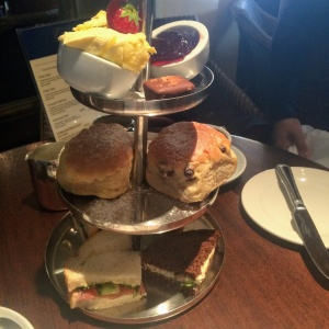 Afternoon tea at the Grand Cafe