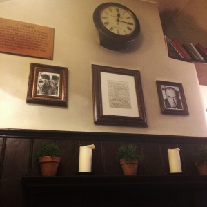 Some photos from the Eagle and Child