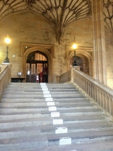 Christ Church staircase, as seen in Harry Potter