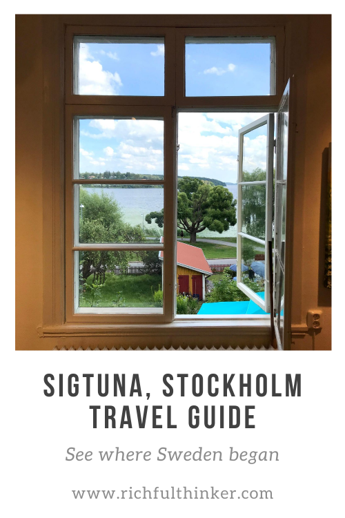 Sigtuna. See where Sweden began - A Day Trip Travel Guide