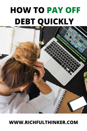How to pay off debt quickly? The three methods.