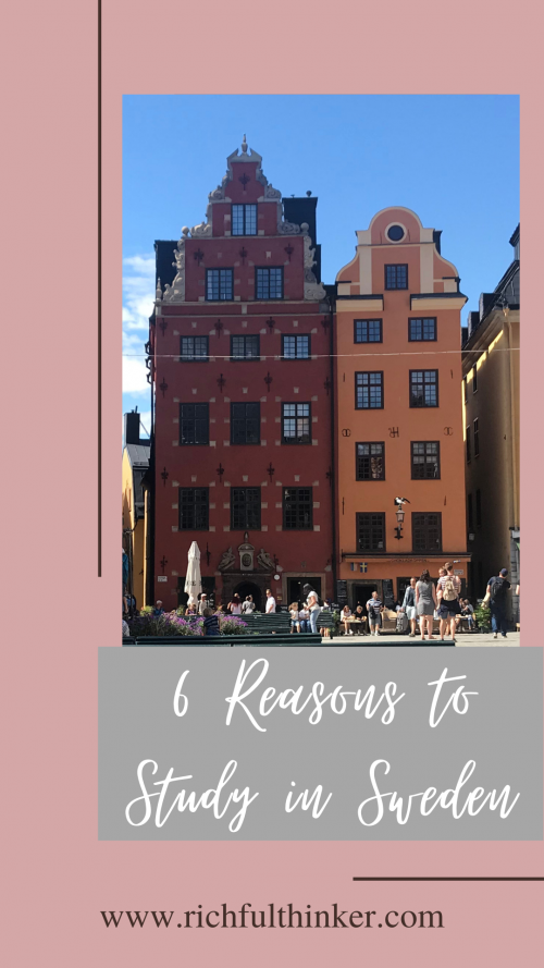 Six reasons you should study in Sweden