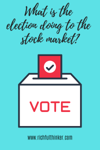What is the election doing to the stock market?
