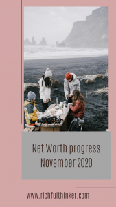 Net Worth progress - November 2020